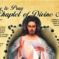 HOW TO PRAY THE DIVINE MERCY CHAPLET INFOGRAPHIC.
