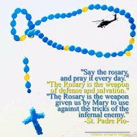 ST. PADRE PIO ON THE HOLY ROSARY