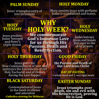"HOLY WEEK: WHY IS IT CALLED ""HOLY""?"