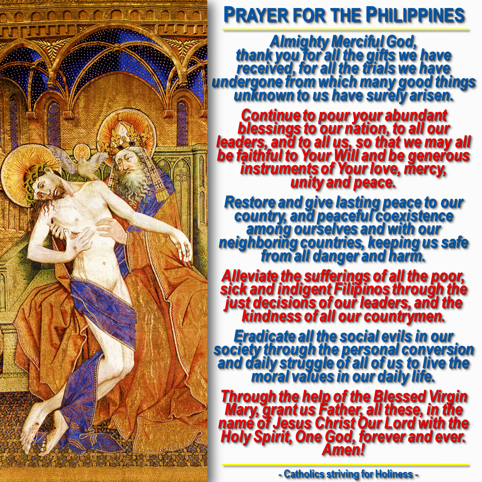 Prayer for the Philippines