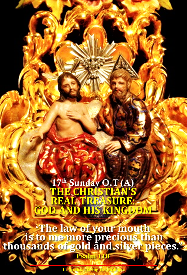 17th sunday ot a the christians real treasure god and his 17th sunday ot a the christians real treasure god and his kingdom fandeluxe Gallery