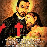 July 14: ST. CAMILLUS DE LELLIS