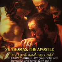 JULY 3: ST. THOMAS, THE APOSTLE.