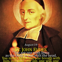 August 19: ST. JOHN EUDES. Short bio + Inspiring Divine Office 2nd reading.