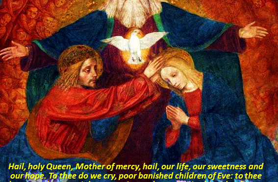 August 22: OUR LADY, QUEEN OF HEAVEN. Hail holy Queen, Mother of mercy! | Catholics Striving for Holiness