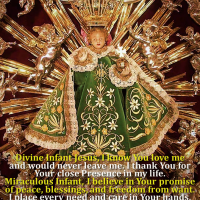 PRAYER TO SANTO NIÑO DE PRAGA (HOLY INFANT JESUS OF PRAGUE).