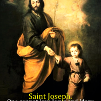 PRAYER TO ST. JOSEPH BEFORE AND AFTER MASS.