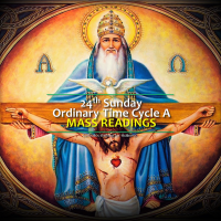 24th Sunday of Ordinary Time, Cycle A. Mass readings