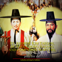 Sept. 20  ST. ANDREW KIM TAEGON, ST. PAUL CHONG HASANG, AND THEIR COMPANIONS, MARTYRS.