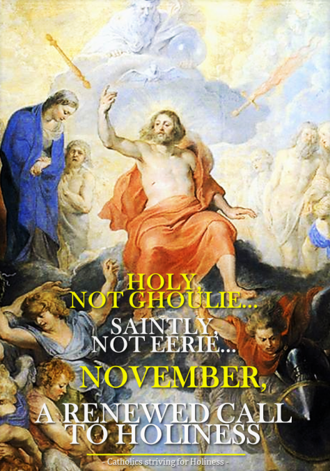 NOVEMBER, A CALL TO SANCTITY2