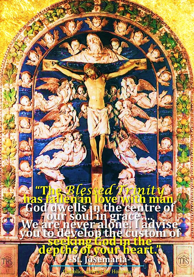SEEK GOD IN THE DEPTHS OF YOUR SOUL IN GRACE.