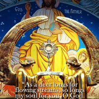 SEEK THE LORD IN THE HOLY EUCHARIST