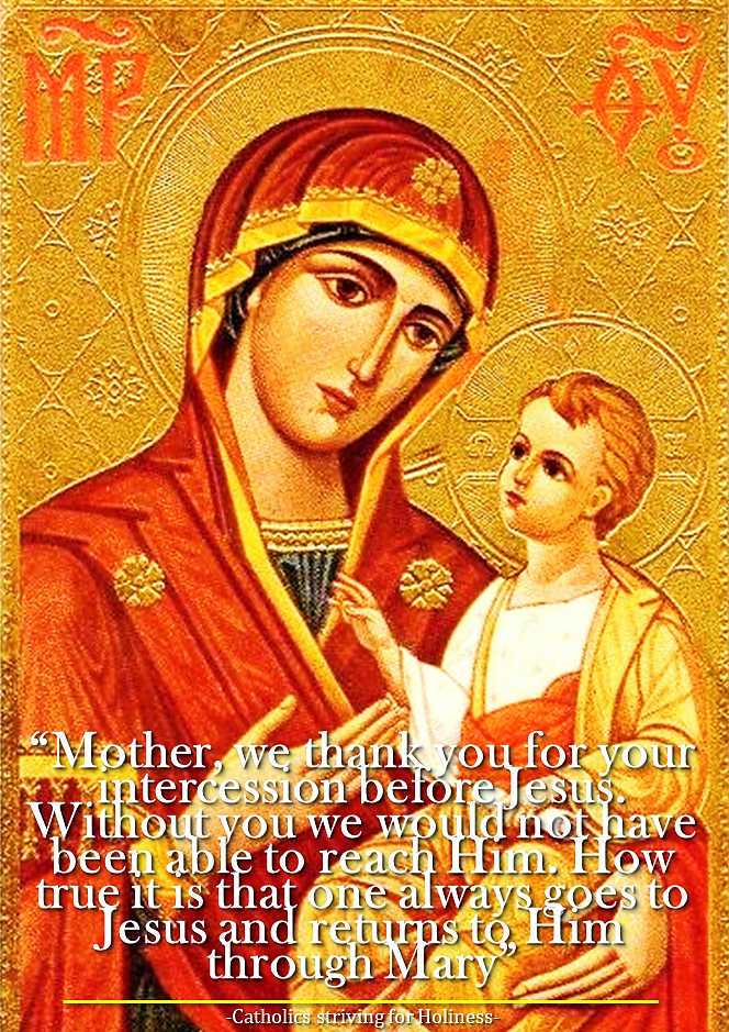 DEC. 1: MARY, OUR MOTHER.