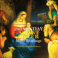 2nd Sunday of Advent. Cycle B. Mass readings