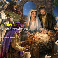 DECEMBER 19. Mass and readings