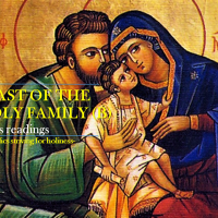 FEAST OF THE HOLY FAMILY (Year B). Mass readings.