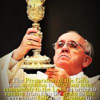 POPE FRANCIS' CATECHESIS ON THE HOLY MASS. THE PREPARATION OF THE GIFTS. Vatican English Summary + Full text by Zenit
