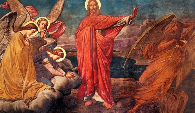 1ST SUNDAY OF LENT (B).  JESUS PREVAILED OVER THE TEMPTATIONS.