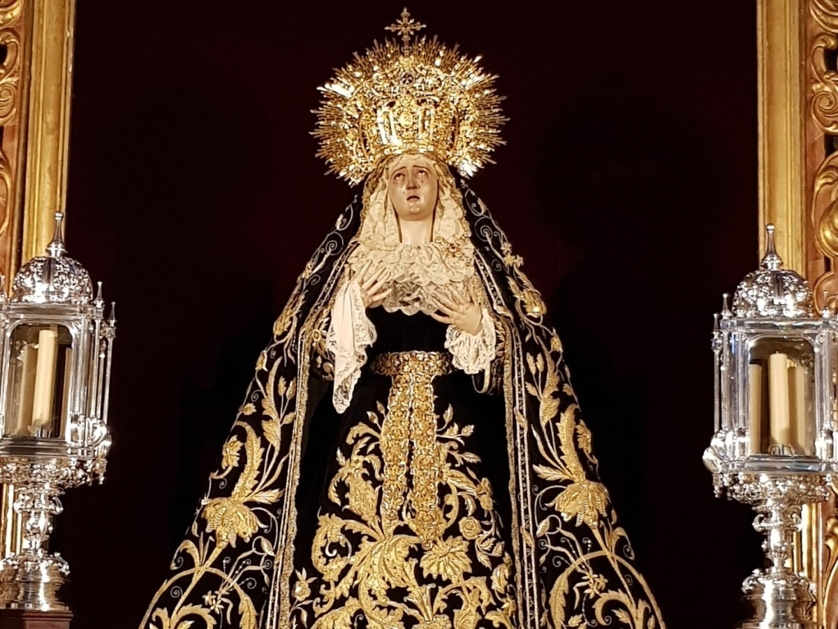 VIRGIN OF SORROWS....