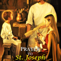 PRAYER OF THE UNEMPLOYED TO ST. JOSEPH.