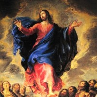 ASCENSION OF OUR LORD: THE GLORIFICATION OF THE SACRED HUMANITY OF CHRIST.