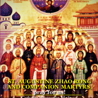 JULY 9: ST. AUGUSTINE ZHAO RONG, PRIEST, AND COMPANIONS, MARTYRS.