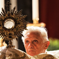 POPE BENEDICT XVI: THE EUCHARIST, ANTIDOTE AGAINST INDIVIDUALISM AND SELFISHNESS