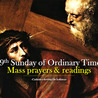 29th Sunday of Ordinary Time. Mass prayers and readings.