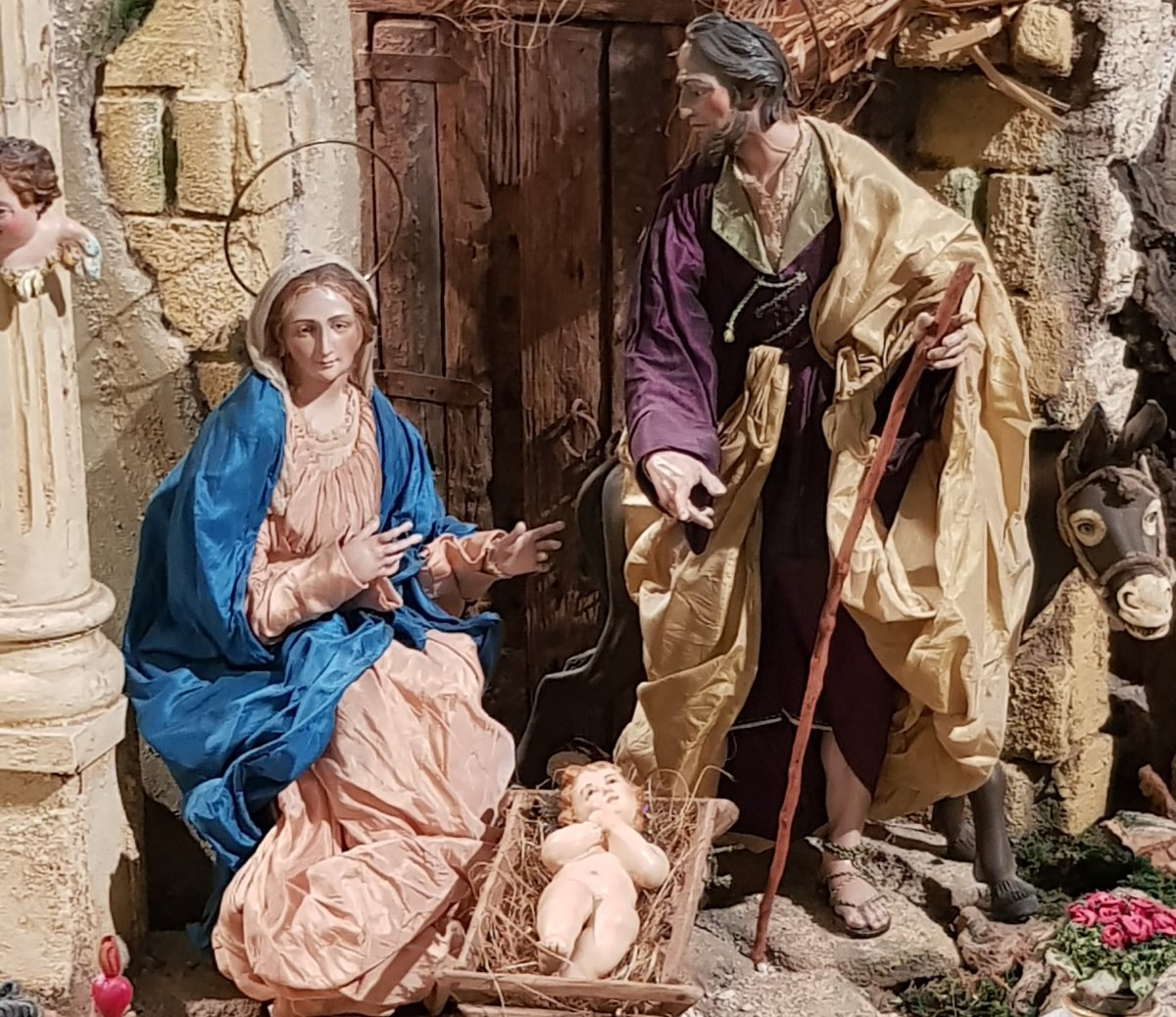 IMPRESSIVE NAPOLITAN NATIVITY SCENE (17th-20thc.) OF HOSPITAL DE LA SANTA CARIDAD (Seville, Spain)