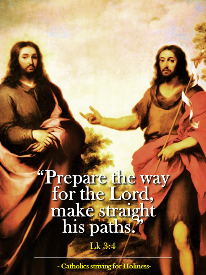 2nd Sunday of Advent C. Prepare the way for the Lord, make straight his paths