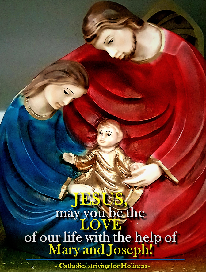 Jesus May you be the love of our life