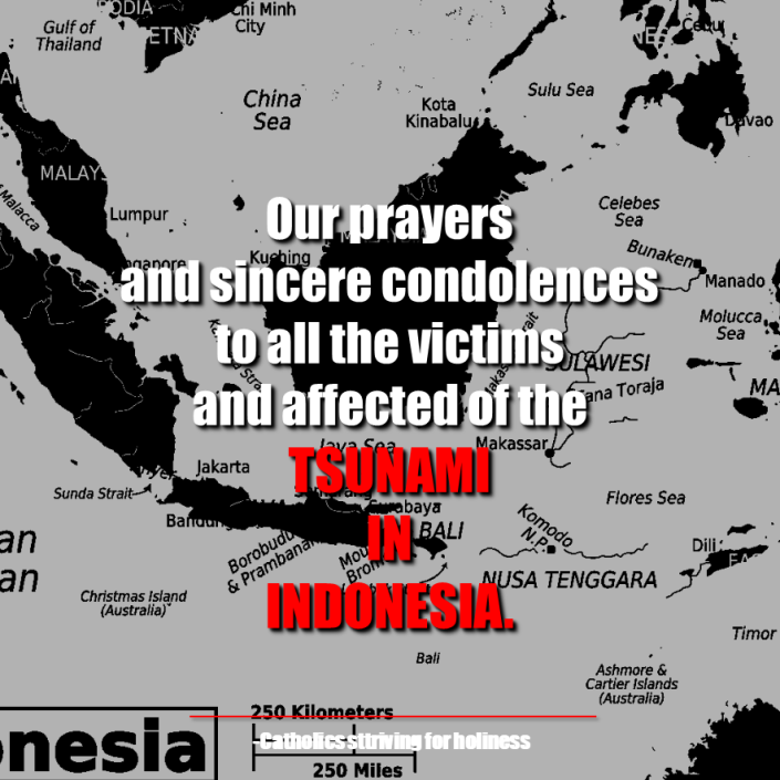 PRAYERS FOR INDONESIA