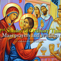 2nd SUNDAY OF ORDINARY TIME. MASS PRAYERS AND READINGS.