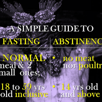 FASTING AND ABSTINENCE: A SIMPLE GUIDE.