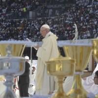 "POPE FRANCIS' HOMILY, HOLY MASS IN HIS APOSTOLIC JOURNEY TO UAE: ""Blessed are you..."""